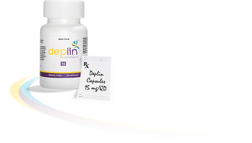 *DEPLIN® is the only product with 15 mg of Metafolin® (L-methylfolate calcium), which is clinically proven and has been widely studied in over 25 clinical trials.